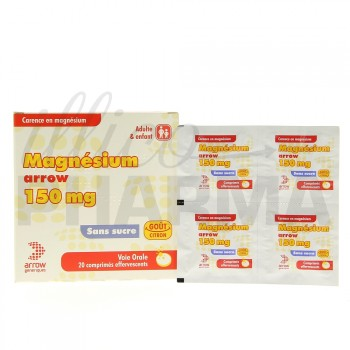 Magnesium Arrow 150mg 20cpr