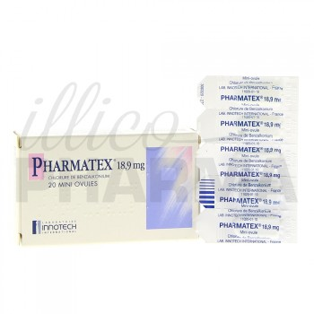 Mini ovule Pharmatex x20