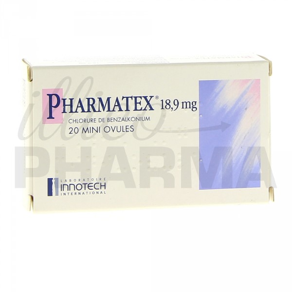 Mini ovule Pharmatex x20, Contraception, Pharmacie en