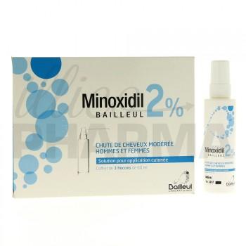 minoxidil bailleul 2 chute de cheveux pharmacie en ligne illicopharma. Black Bedroom Furniture Sets. Home Design Ideas