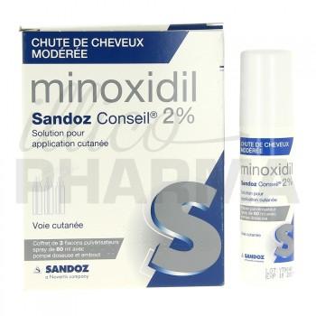 Minoxidil Sandoz 2%