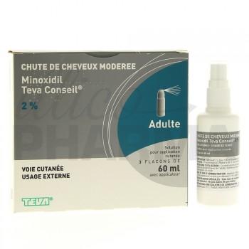 Minoxidil Teva 2%
