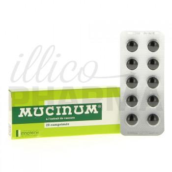 Mucinum à l'extrait de cascara 20cpr