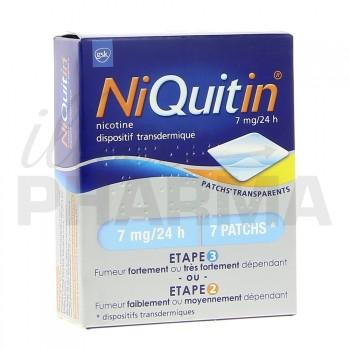 Niquitin 7mg x7 patchs