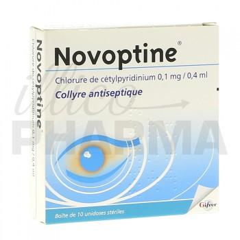 Novoptine collyre 10 unidoses