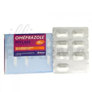 Omeprazole Mylan 20mg 7gélules