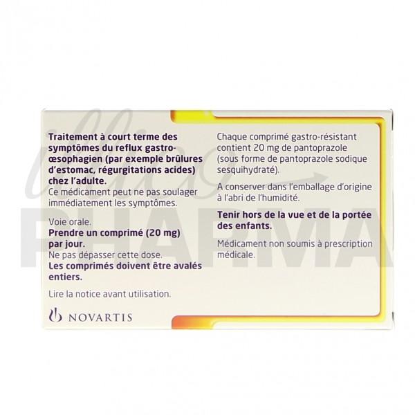 Pantoloc Control 20mg 14cpr, Maux d'estomac, Pharmacie en
