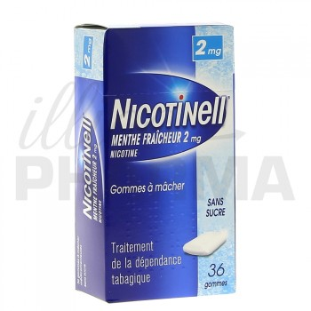 Nicotinell Menthe fraicheur 2mg 36gommes