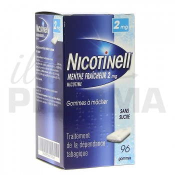 Nicotinell Menthe fraicheur 2mg 96gommes