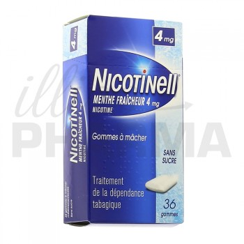Nicotinell Menthe fraicheur 4mg 36gommes