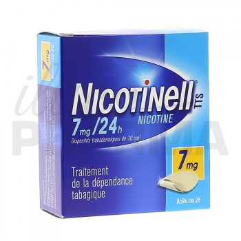 Nicotinell TTS 7mg Bte de 28
