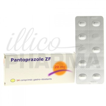 Pantoprazole ZF 20mg 14cpr