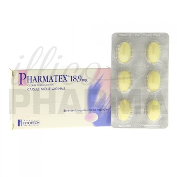 Pharmatex 18,9mg Caps molle vaginale x6
