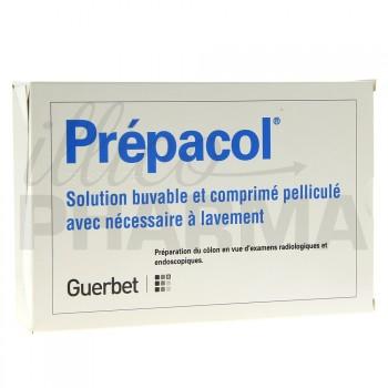 Prepacol 4cpr + Fl30ml avec nécessaire lavement