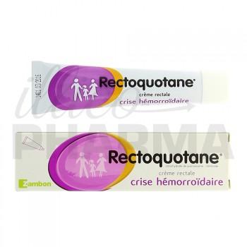 Rectoquotane crème rectale 20g