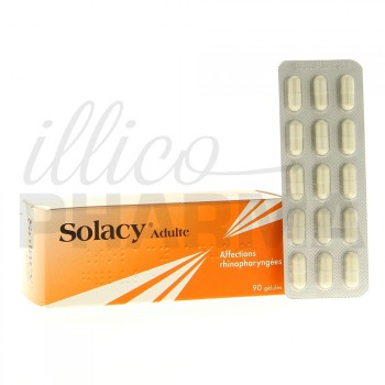 Solacy Adultes 90gélules