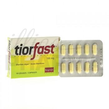 Tiorfast 100mg 10gélules