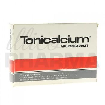 Tonicalcium adulte 20Amp/10ml