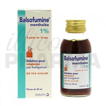 Balsofumine 1% Solution pour inhalation, Rhume, e