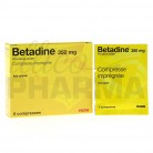 Betadine 350mg 6 compresses...