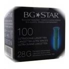 BGStar 100 lancettes