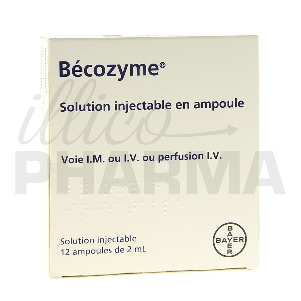 Becozyme Ampoules Fatigue Pharmacie Fran 231 Aise En Ligne