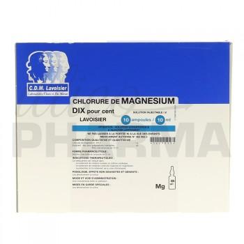 Chlorure de magnésium Lavoisier 10% 10Amp/10ml