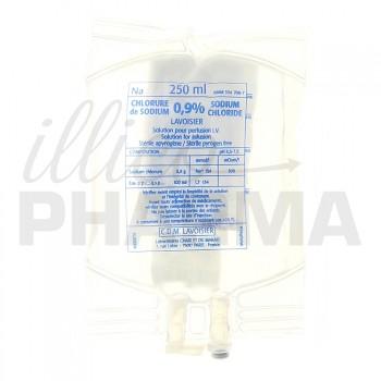 Chlorure de sodium Lavoisier 0,9% Poche 250ml