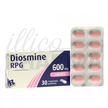 Diosmine RPG 600mg 30cpr