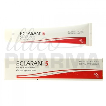 Eclaran 5 gel 45g, Acné, Pharmacie française en ligne
