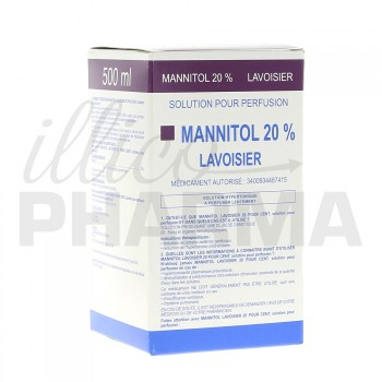 Mannitol Lavoisier 20% 500ml