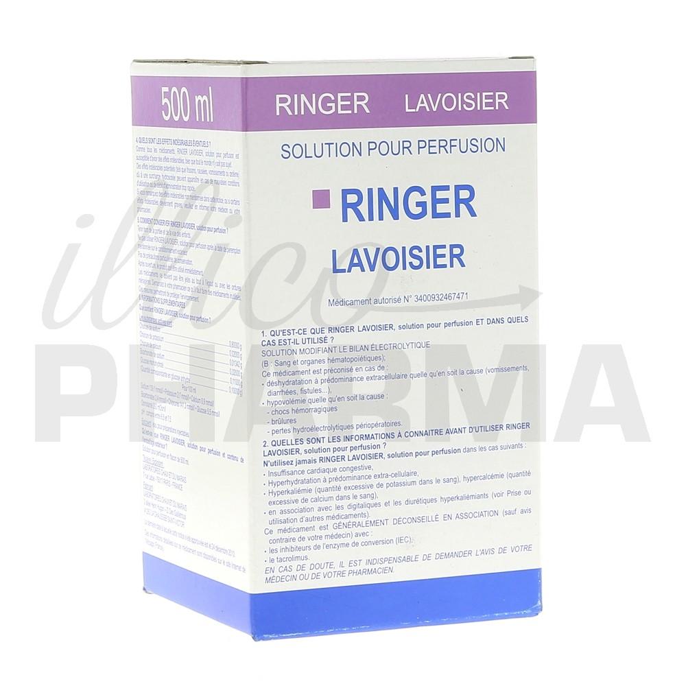 Ringer Lavoisier 500ml, Liquide, Pharmacie en ligne
