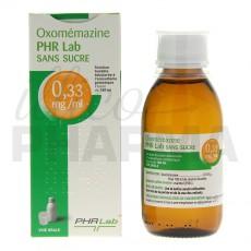 Oxomemazine PHR Labo sans sucre...