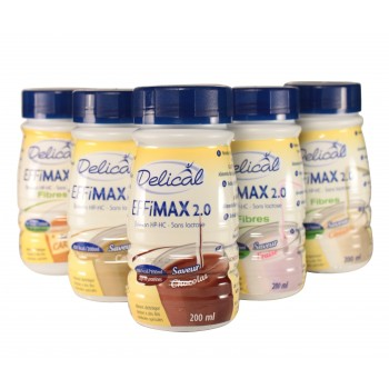 Delical Effimax 2.0 4Bouteilles/200ml