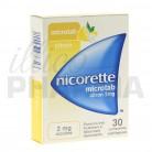 Nicorette Microtab citron 2mg 30cp
