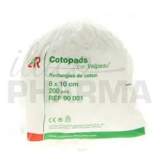 Cotopads rectangles de coton...