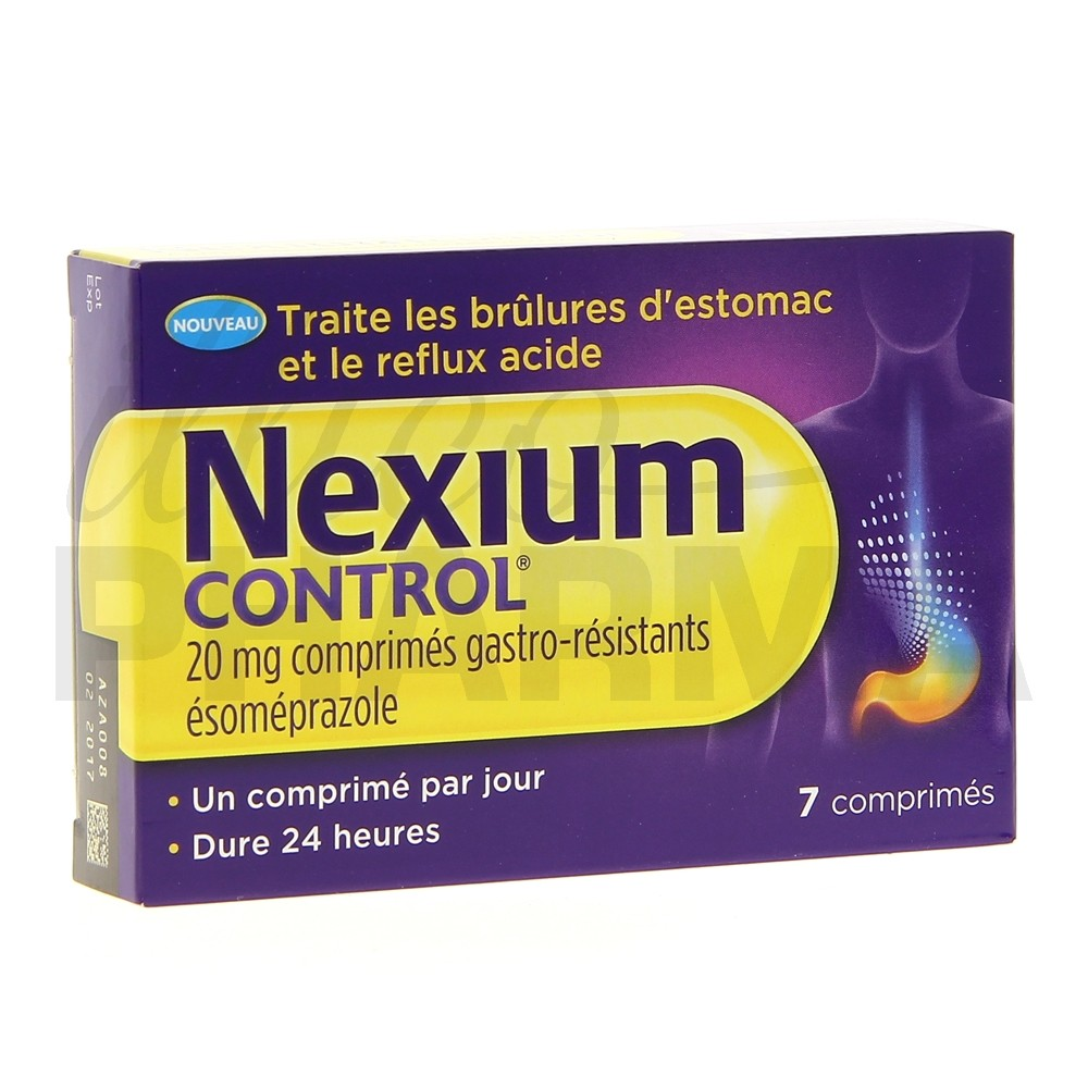 Nexium Control 7cp - Médicament Maux d'estomac - IllicoPharma