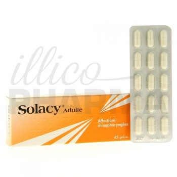 Solacy Adultes 45gélules