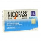 Nicopass 1,5mg x12 menthe fraîcheur
