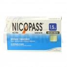 Nicopass 1,5mg x36 Réglisse Menthe