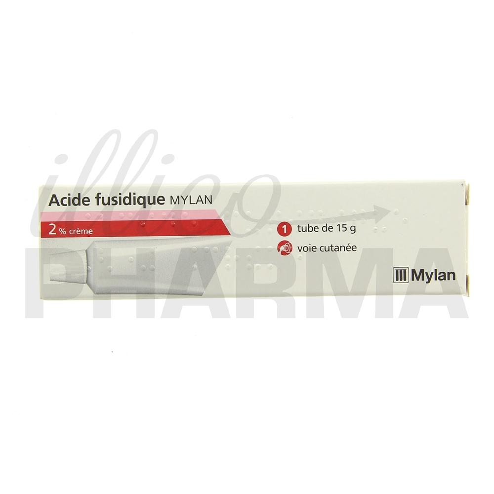 Acide fusidique Mylan 2% - Antibactériens & antiviraux à