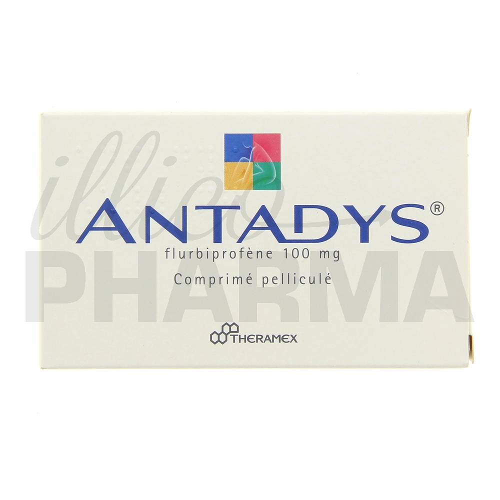 antadys 100mg 15cpr antiinflammatoires antirhumatismaux illicopharma. Black Bedroom Furniture Sets. Home Design Ideas