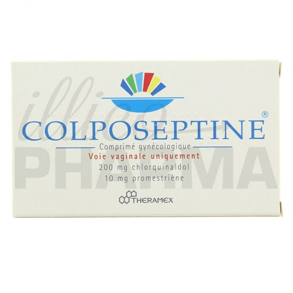 colposeptine 18cpr antiinfectieux gyn cologiques illicopharma. Black Bedroom Furniture Sets. Home Design Ideas
