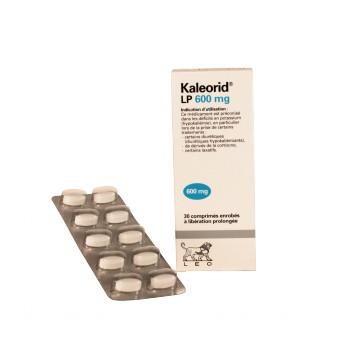 Kaleorid LP 600mg 30cpr, Laboratoires LEO - IllicoPharma