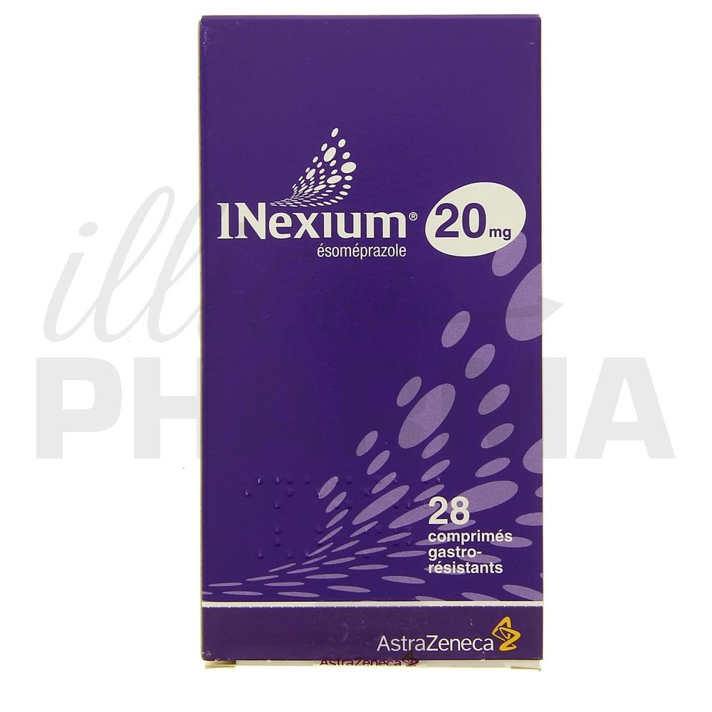 Inexium 20mg 28cpr - Antiacides, antiflatulents