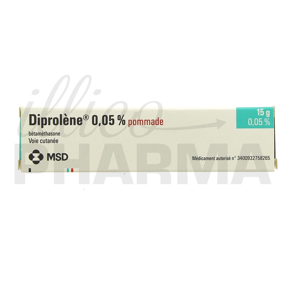 Médicament Diprolene pommade - Corticoïdes à usage topique
