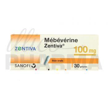 Mebeverine Gé 100mg 30gél - Troubles digestifs - IllicoPharma