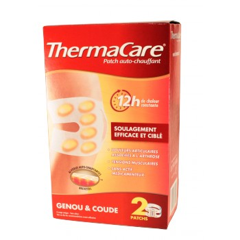 Thermacare genou/coude - 2 patchs chauffants