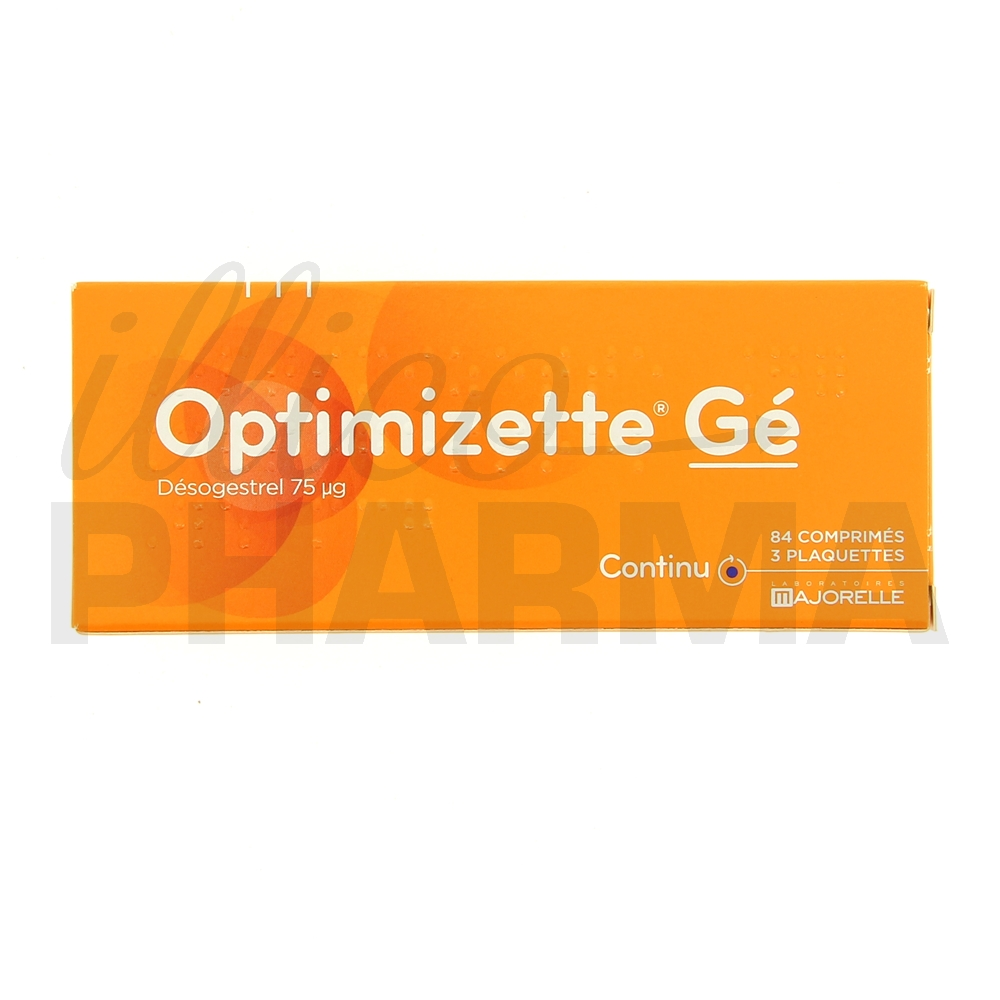 Optimizette Gé 3x28cpr - Contraception - Pharmacie