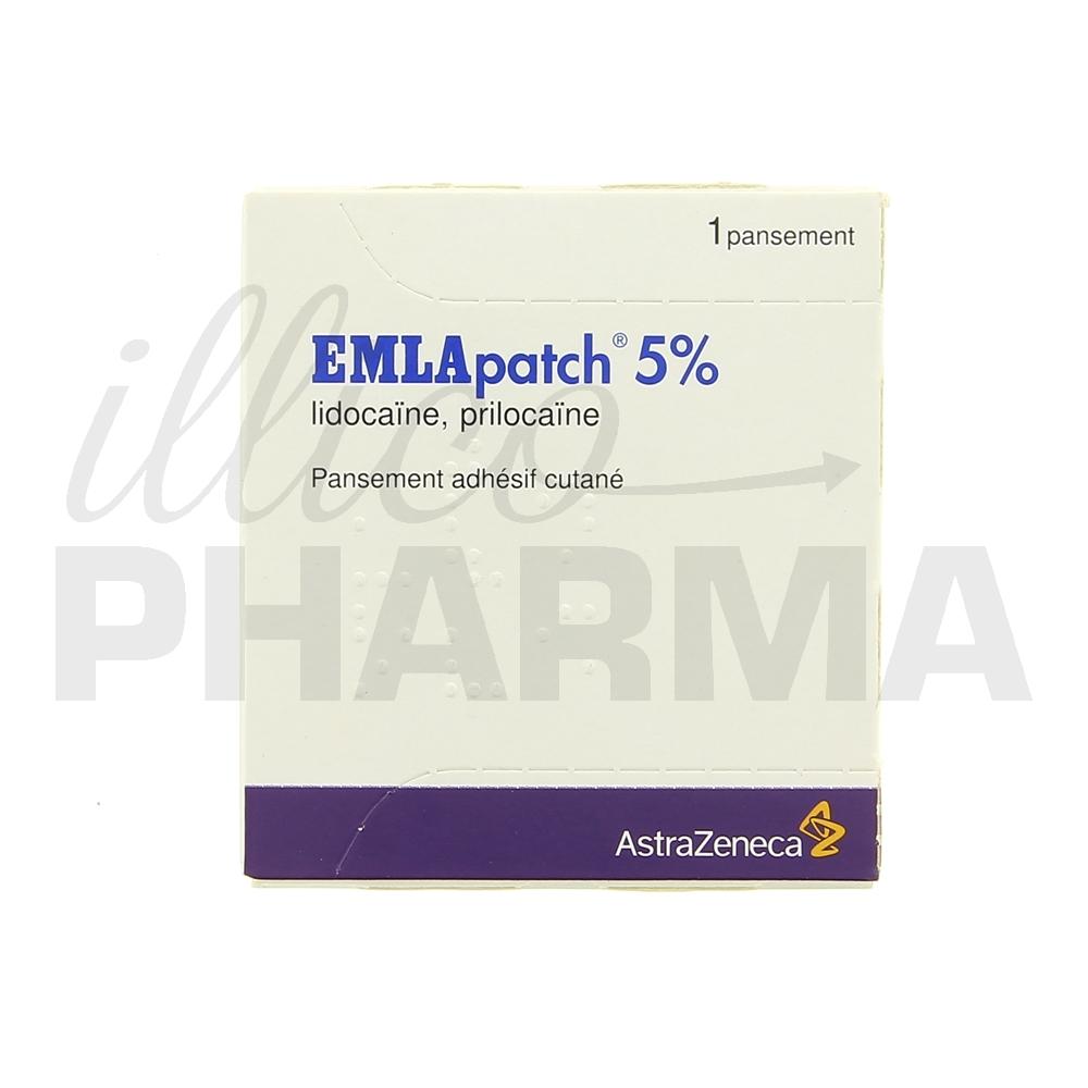 Médicament Patch Emla - Anesthésiques - Pharmacie IllicoPharma